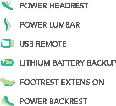 VivaLift Standard Features