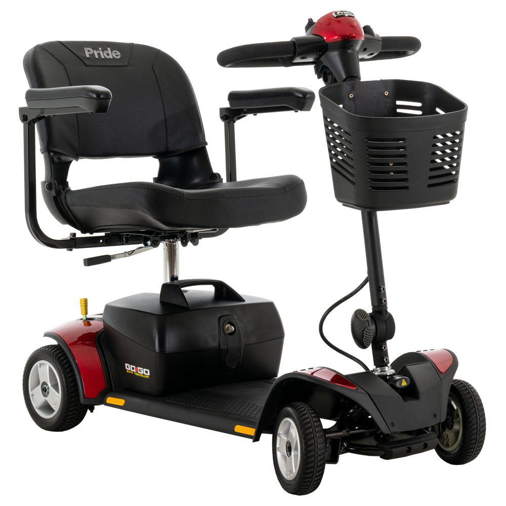 Go-Go® Elite Traveller 4-Wheel 12 Amp (SC44E) *FDA Class II Medical Device*