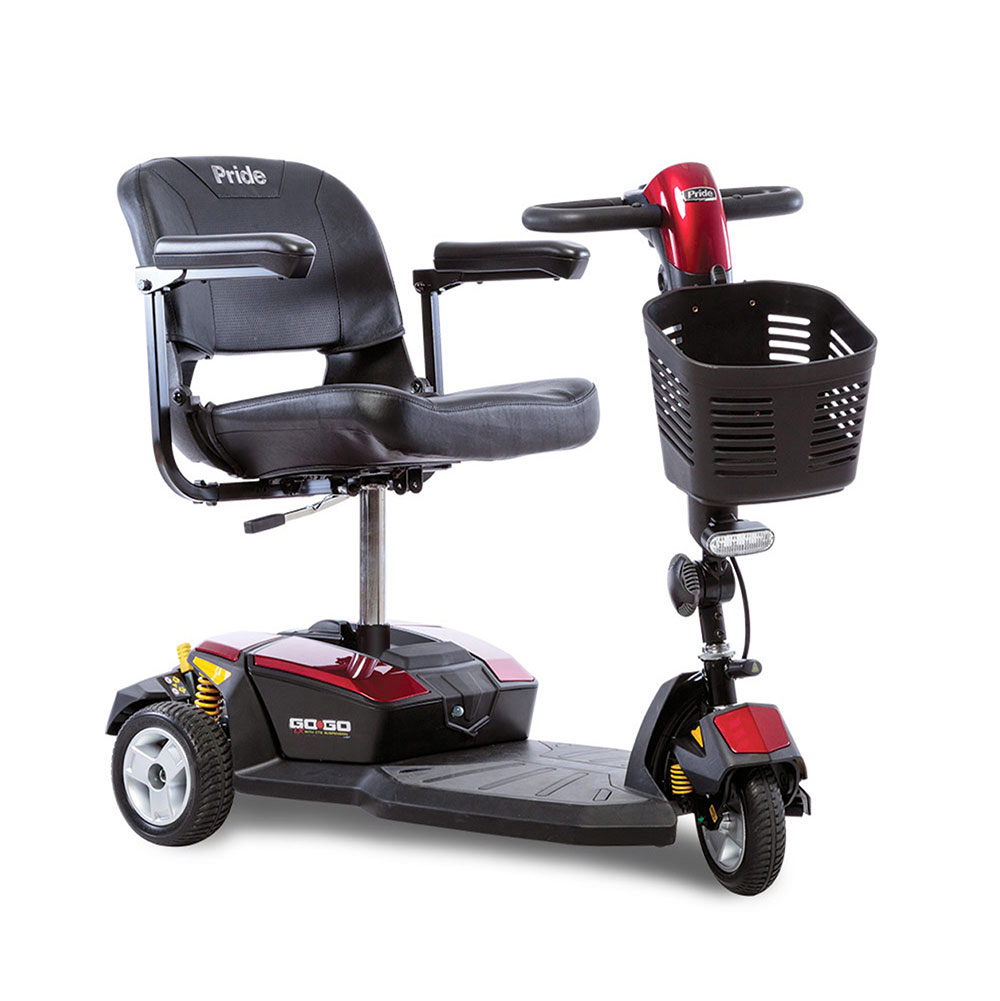 Go-Go® LX w/CTS Suspension 3-Wheel 12 Amp (SC50LX) *FDA Class II Medical Device*