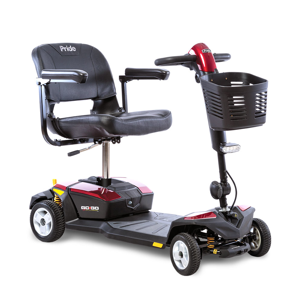Go-Go® LX w/CTS Suspension 4-Wheel 12 Amp (SC54LX) *FDA Class II Medical Device*